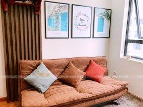 Bọc ghế sofa giường tại Chung cư Thái Hà 43 Phạm Văn Đồng
