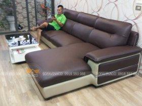 Bọc ghế sofa tại khu đô thị Linh Đàm, Hoàng Mai