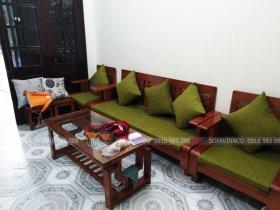 Làm đệm ghế cho cô Hậu ở Nguyễn Trãi