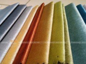 Mẫu vải nhung N60 chuyên dùng làm vỏ đệm ghế, vỏ bọc sofa
