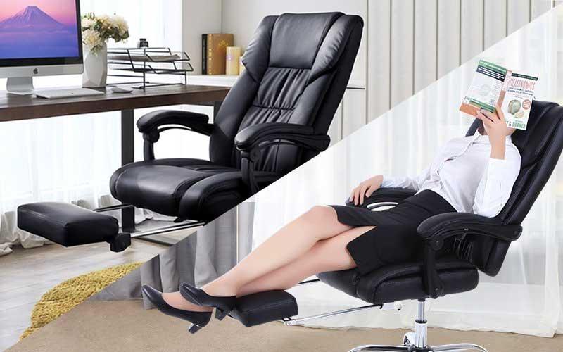 3 mẫu ghế văn phòng ngã lưng mà dân văn phòng nên dùng