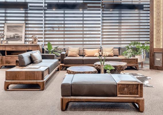7 Ý tưởng trang trí nội thất bằng gỗ sang trọng và Loại gỗ làm bàn ghế sofa chất lượng