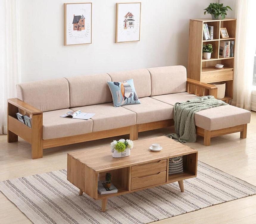 Bàn ghế sofa gỗ xu hướng nội thất không bao giờ lỗi thời