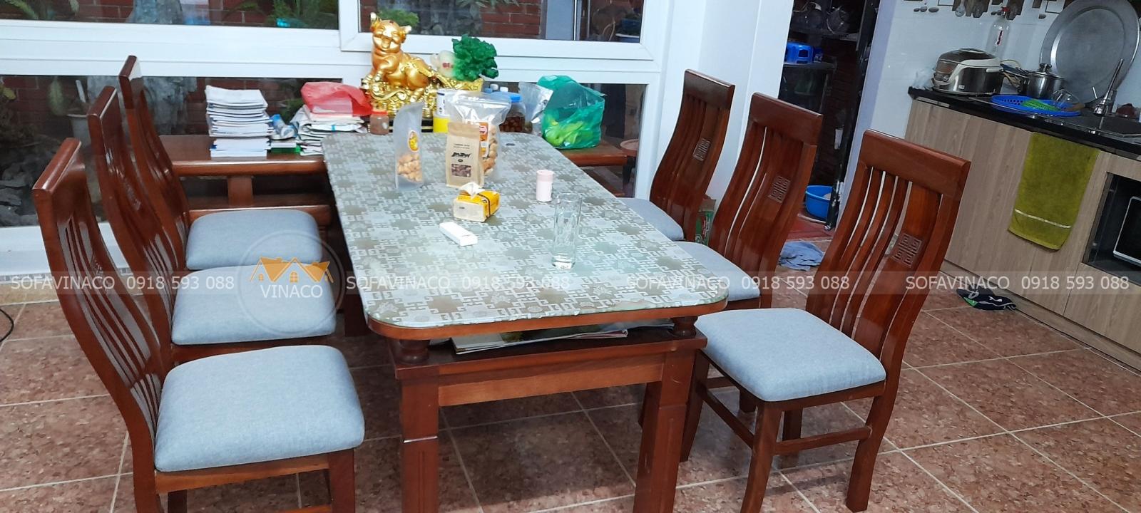 Biến bàn ăn cũ thành mới trong tích tắc bằng các bước đơn giản