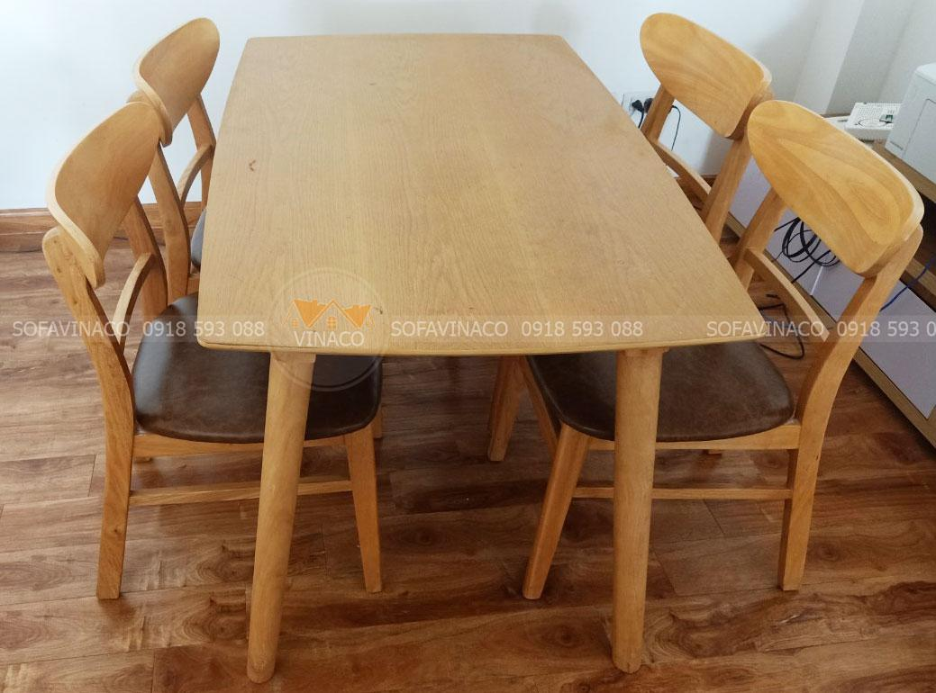 Bọc ghế bàn ăn – bọc lại nệm vải da ghế bàn ăn đẹp giá rẻ