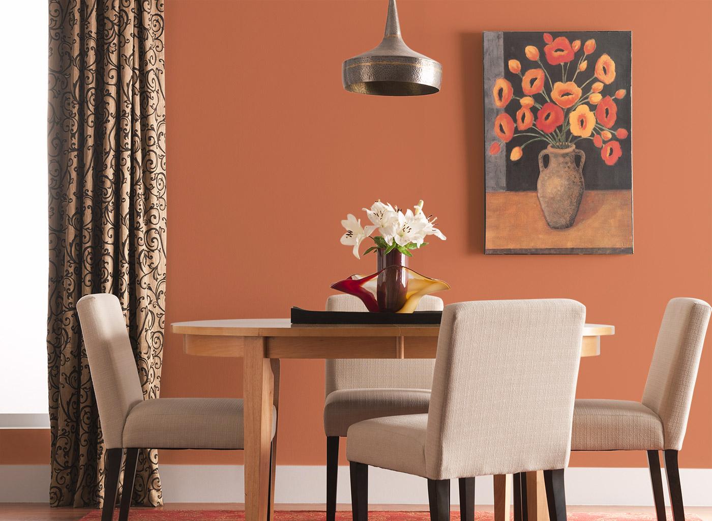 bọc ghế bàn ăn màu sắc