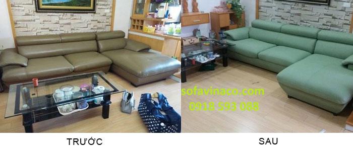 Bọc ghế sofa chuyên nghiệp giá rẻ Thanh Xuân Hà Nội