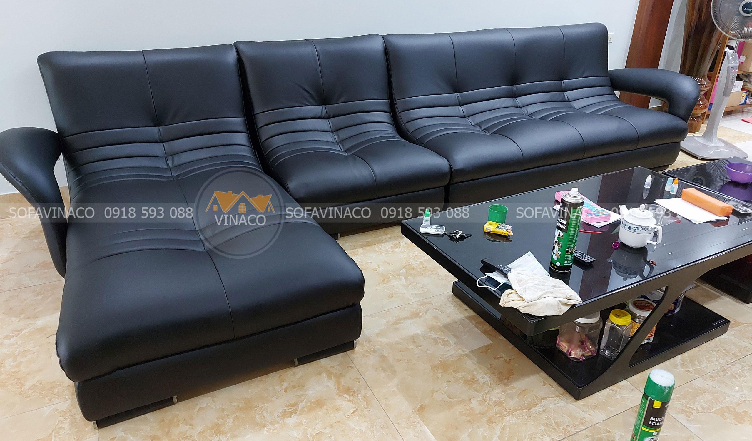 Bọc ghế sofa da chất lượng khỏi bàn tại Vĩnh Phúc