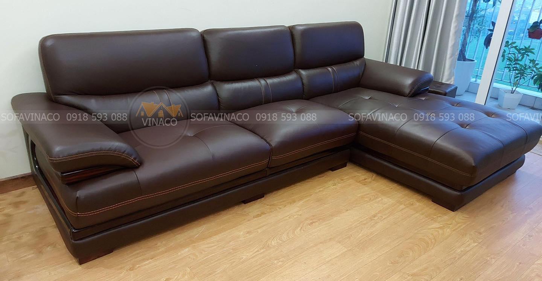 Bọc ghế sofa da cũ thành mới dịch vụ số 1 tại Thạch Thất, Hà Nội