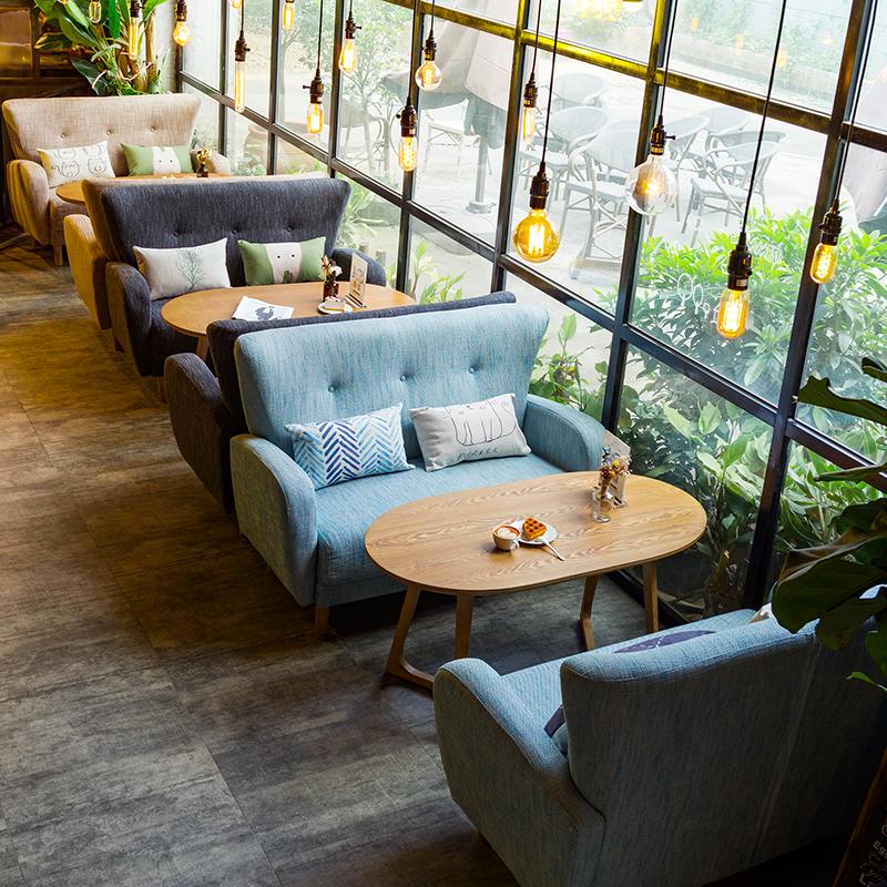 Bọc ghế sofa dành cho quán cafe