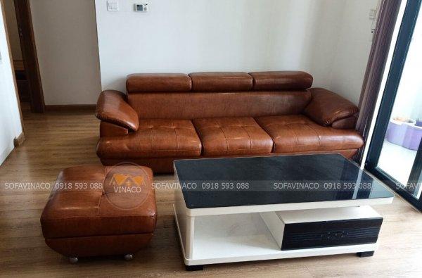 Bọc ghế sofa làm đệm ghế gỗ Ba Đình