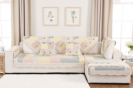 Bọc ghế sofa Polyester có bền không?