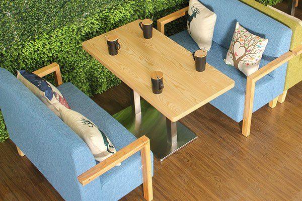Bọc sofa quán cà phê giá rẻ theo yêu cầu ở hà nội