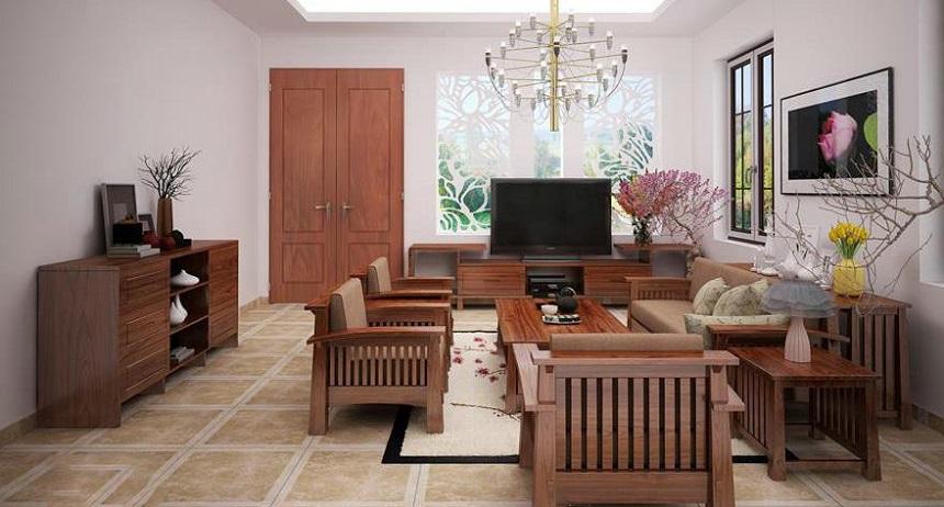 Các loại vật liệu gỗ làm ghế sofa