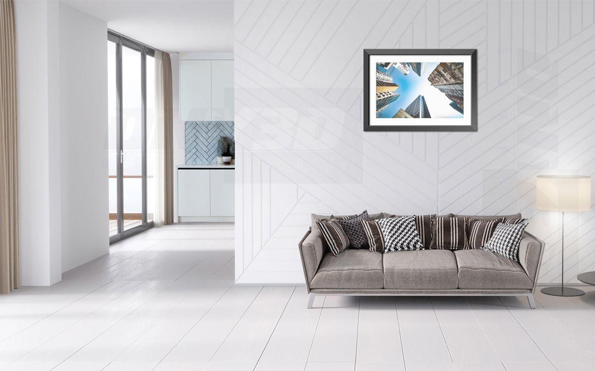 Cách trang trí phòng khách hướng hiện đại theo xu hướng tối giản cuối năm 2020