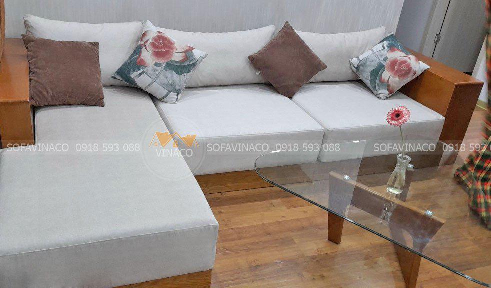 Chỗ dựa sofa nằm trong 4 chỗ dựa phong thủy giúp tăng vận quý nhân cho gia chủ
