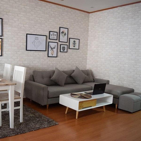 Chọn mua sofa vải, nỉ hay sofa da cho phòng khách?