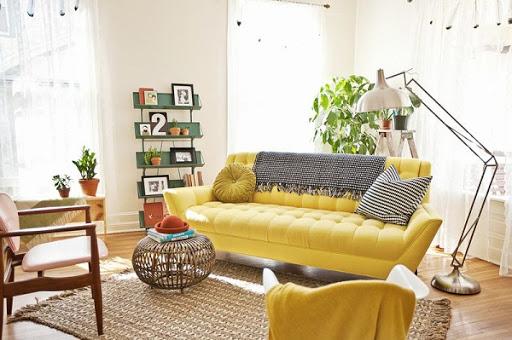 Chọn ngay bọc ghế sofa gam màu nóng cho mùa đông thêm ấm áp