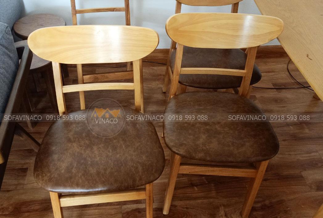 Chuyên bọc ghế ăn tận tâm tận tình tại Long Biên, Hà Nội