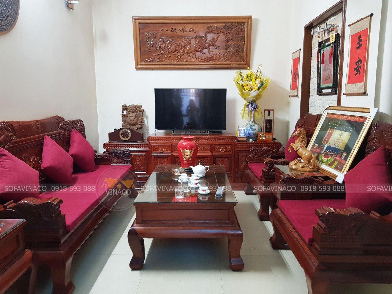 Đệm ghế chào đón tết tại Hoàng Mai, Hà Nội