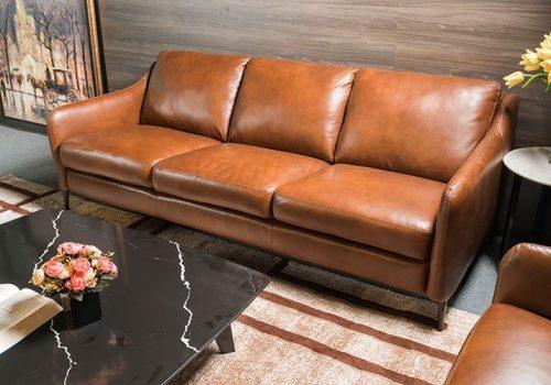 Ghế sofa da với những ưu điểm nổi trội thu hút khách hàng