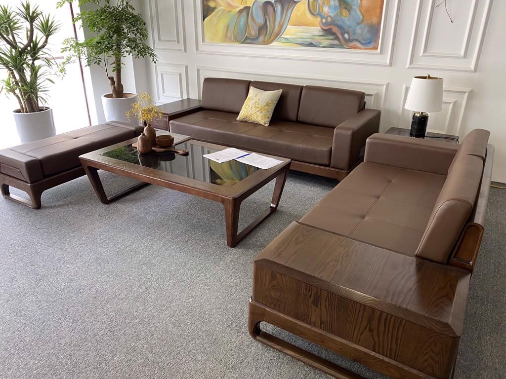 Ghế sofa gỗ - Sản phẩm bán chạy nhất tại Vinaco