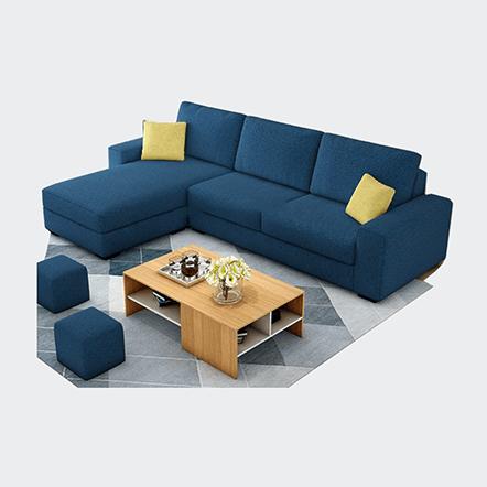 Ghế sofa góc cho phòng nhỏ, bạn nghĩ sao?