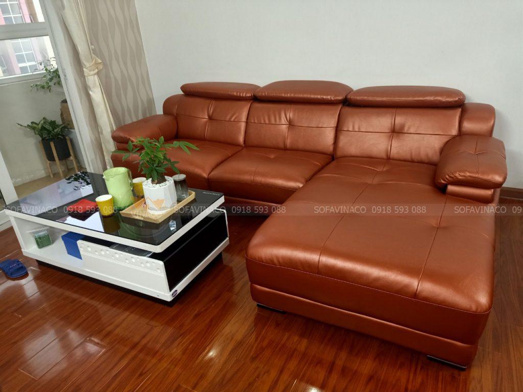 Khẳng định chất lượng với dịch vụ bọc da ghế sofa hiện đại
