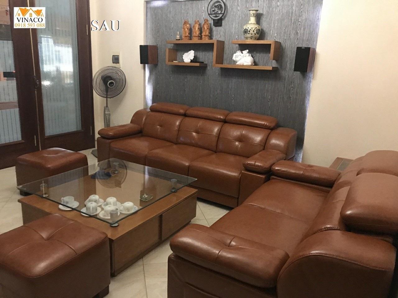 Bọc Ghế Sofa Nhà Cô Thu Sơn Tây Hà Nội
