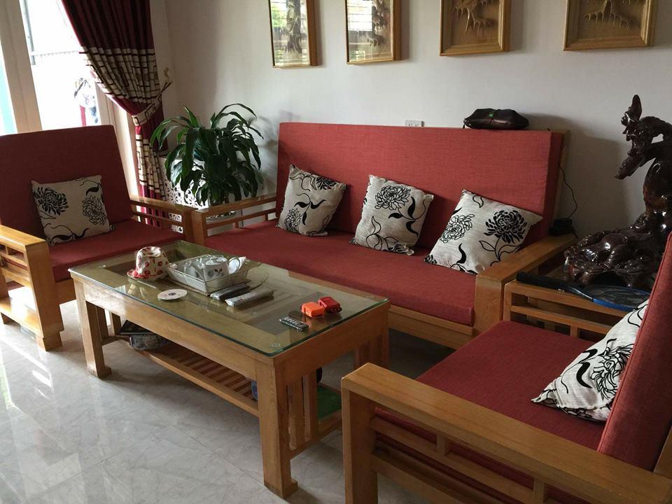 Làm đệm ghế gỗ cho phòng khách nhà bạn