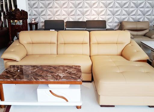 Làm mát phòng khách nhờ lựa chọn chất liệu bọc ghế sofa