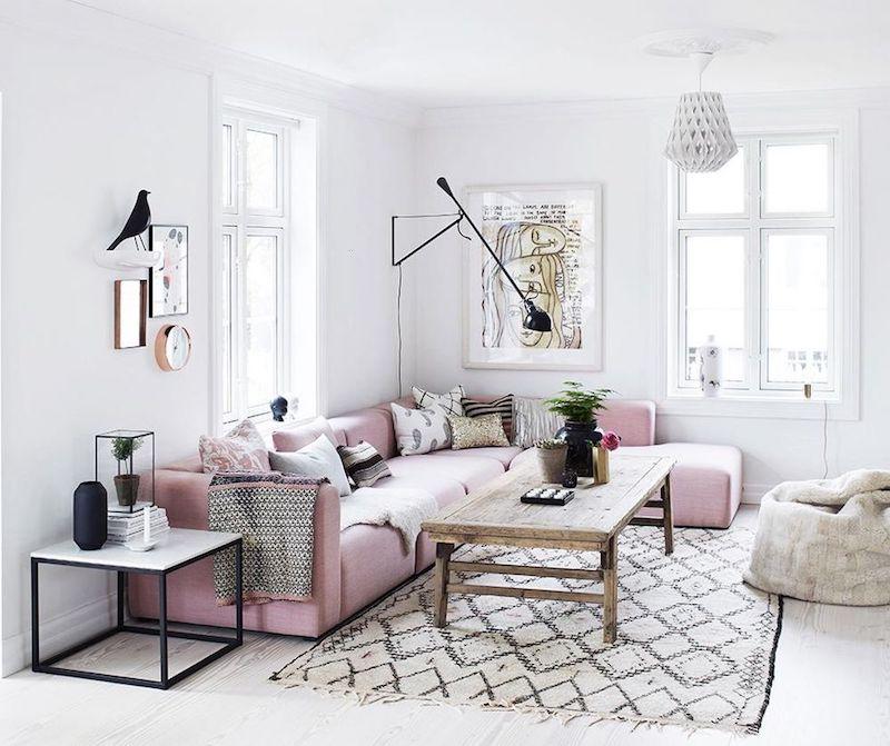 Lựa chọn màu ghế sofa góc đẹp cho mùa xuân sắp đến