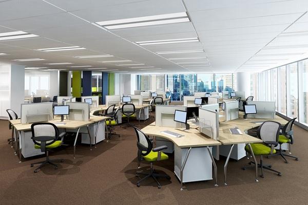Lưu ý khi thiết kế không gian nội thất văn phòng