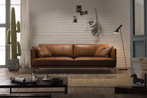 Lý do nên chọn sofa da bò thật thay vì sofa da công nghiệp, sofa vải