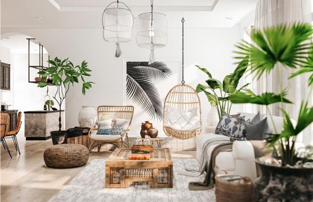 Mẫu đóng ghế sofa mới với phong cách thiết kế Rustic mộc mạc