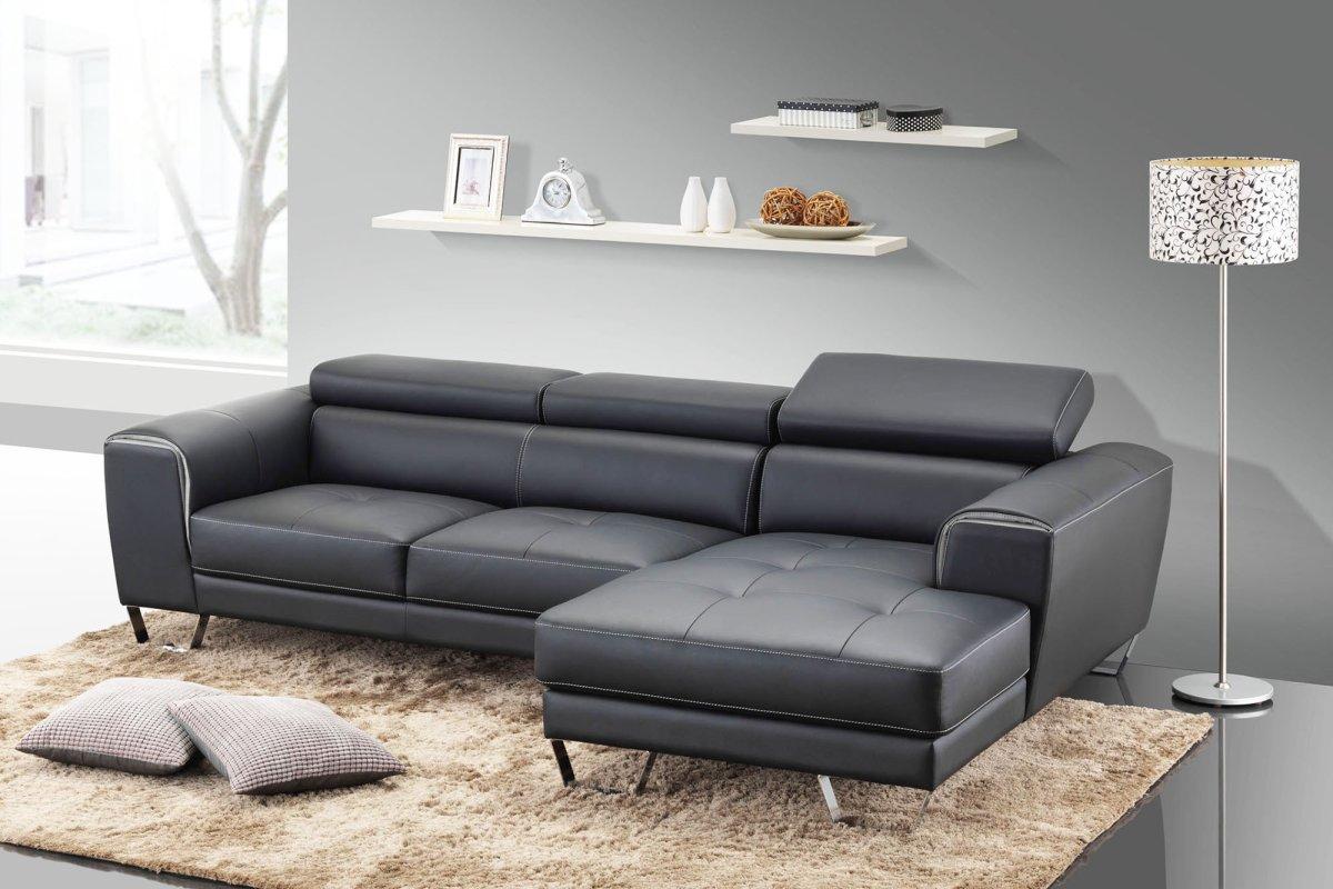 Nên lựa chọn sofa vải hay da cho không gian phòng khách?