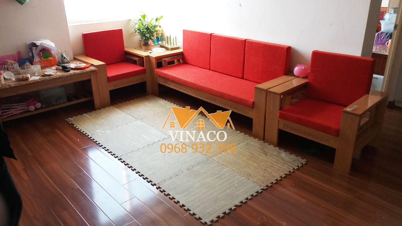Những mẫu đệm ghế gỗ màu đỏ đem lại may mắn cho gia chủ năm 2020.