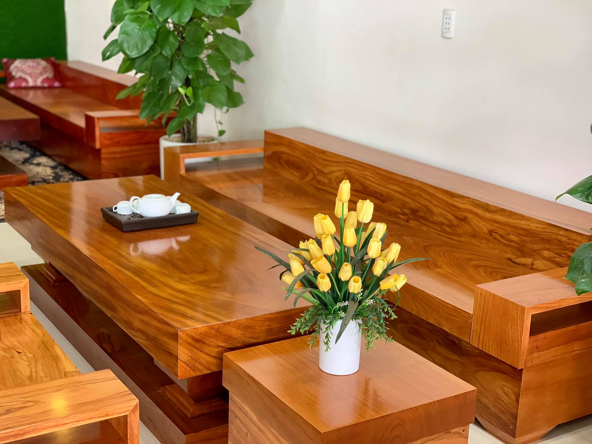 Những tiêu chí để chọn ghế sofa gỗ tốt cho phòng khách