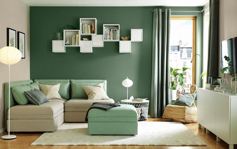 Phối màu sắc của phòng khách dựa trên những tiêu chí nào?