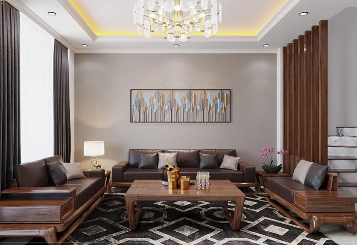 Sofa chữ U – Lựa chọn mới cho không gian sang trọng, đẳng cấp và hiện đại
