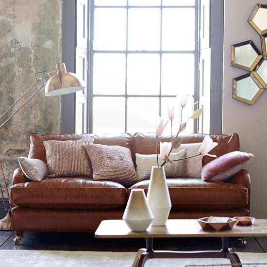 sofa da nâu