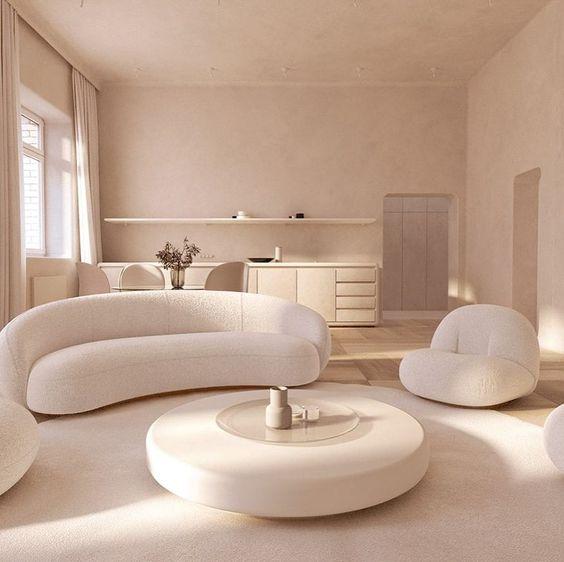 Sử dụng sofa màu Vintage trong thiết kế phòng ngủ