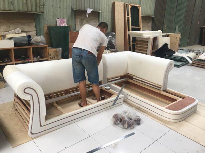 Sự tiện lợi dịch vụ bọc ghế sofa tại nhà mang đến