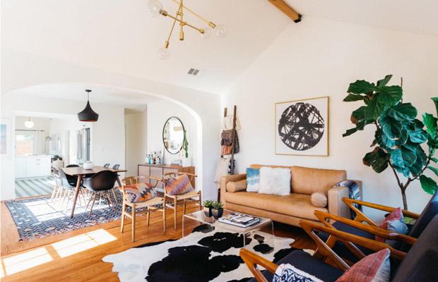 Thiết kế nội thất hiện đại mang hơi thở phong cách Retro